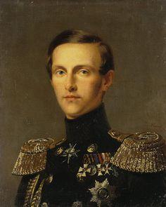 Kruger Franz - Portrait of Grand Duke Konstantin Nikolayevich of Russia