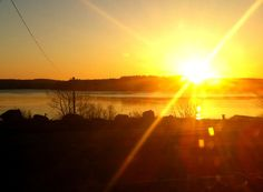 Beautiful sunrise on Nova Scotia's Authentic. Time to start thinking about a spring getaway http://www.authenticseacoast.com/play/spring.html