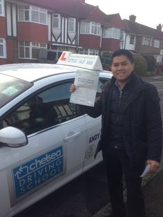 Congratulations to Hernando on passing his driving test after driving lessons with Chelsea Driving School Driving School Hawkesbury http://sksdrivingschool.com.au/driving-school-hawkesbury/