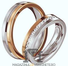 #verighete #auralb #aurroz model MDV 601 #douaculori pentru o #nunta de vis! Wedding Rings, Wedding Ideas, Goals, Engagement Rings, Model, Pink, Jewelry, Diamond, Enagement Rings