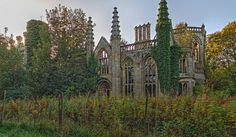 Crawford Priory (2nd pano SE view) by Cecil's Chicken Ranch, via Flickr