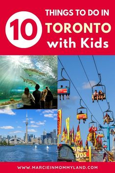 travel idea canada Who knew there were so many cool things to do in Toronto with kids Find out the top kid-friendly attractions and activities that your whole family will love. Canada Destinations, Family Vacation Destinations, Vacation Ideas, Vacation List, Vacation Shirts, Amazing Destinations, Vacations, Vancouver, Quebec