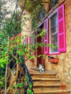 What do you think of this house? شو رأيكن بهالبيت؟ By Salma Samaha  #WeAreLebanon #Lebanon