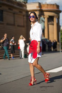 Nicole Warne -  The Land Down Under: #StreetStyle From Australian Fashion Week