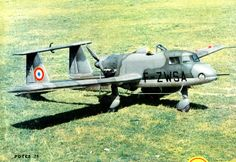 Potez 75 (1953) The Potez 75 was a French light ground attack pusher configuration monoplane of the 1950s.  It was modified to light ground attack configuration and tested in the Algerian War, excelling in this role and orders were placed for 15 pre-production and 100 production machines in 1956.[3] This order was cancelled the following year as part of defence budget cuts.