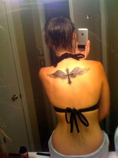 Cross With Wings Tattoo Designs - SloDive