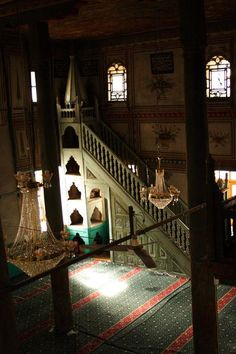 Çarsı Mosque - Yazır Köyü - minbar