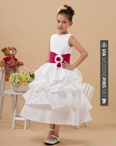Brilliant! - Lovely Satin Handmade Flower Girl Dress Hot Selling: Custom Made Fancy Dress Payment By Paypal:  Email:  Contact With Me! Lark King | CHECK OUT MORE GREAT FLOWER GIRL AND RING BEARER PHOTOS AND IDEAS AT WEDDINGPINS.NET | #weddings #wedding #flowergirl #flowergirls #rings #weddingring #ringbearer #ringbearers #weddingphotographer #bachelorparty #events #forweddings #fairytalewedding #fairytaleweddings #romance