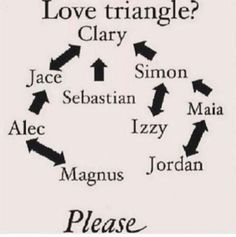 The Mortal Instruments: Jokes, Quotes and Other Stuff..... - Love ... that's not atriangle anymore it's just... Amazingly Fantastic !! ♥