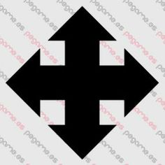 Pegame.es Online Decals Shop  #cross #geometric #arrow #vinyl #sticker #pegatina #vinilo #stencil #decal