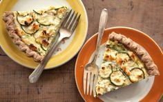 Zucchini Feta Pie