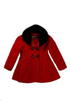 Double Breasted Peacoat (Little Girls) for Miss Georgia