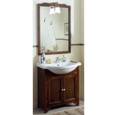mobile bagno oristano 75 cm arte povera con lavabo integrale