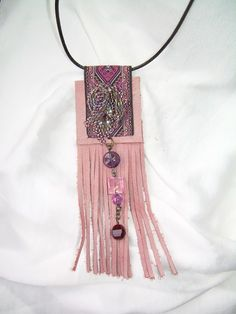 Rope Jewelry, Leather Jewelry, Leather Craft, Jewelry Crafts, Textile Jewelry, Fabric Jewelry, Artisan Jewelry, Handcrafted Jewelry, Diy African Jewelry