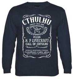 Cthulhu Great old One Camiseta manga larga chico #cthulhu #lovecraft #hplovecraft