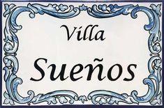 Madrid, Villa, Dibujo, Painted Tiles, Tiles, Cherry Blossom Branches, Ceramic Plates, Home Entrances, Pintura