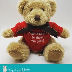 Design & make the perfect personalised teddy bears. Say it with Bears offer the largest range of personalised teddy bear gifts. Buy bears for any occasion. Boofle Bear, Teddy Bear Delivery, Happy Birthday Bear, Teddy Bear Images, Personalised Teddy Bears, Teddy Bear Gifts, Christening Gifts, Personalized Gifts, Finding Yourself