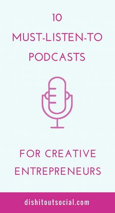 10 of the best podcasts you need to listen to if you're a creative entrepreneur and want to live your best life. You'll find awesome podcasts for personal development, self-improvement, plus online business tips and marketing strategies.  podcasts, entrepreneur, for women, professional development, boss babe, boss lady, digital, business  www.thebizrunners.com/