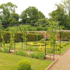 Gothic Garden Arch - these arches can be combined to create a magnificent tunnel in your garden.