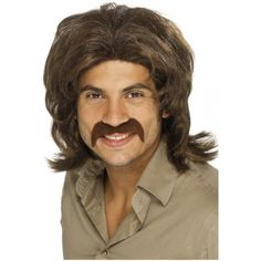 70's Guy Wig Costume Accessory * Check out the image by visiting the link.