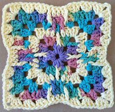 #192 Glass Menagerie Crochet Dishcloth – Maggie Weldon Maggies Crochet