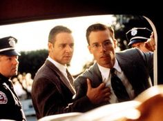 Russell Crowe und Guy Pearce