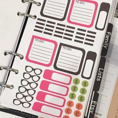I'm absolutely loving sticker pages that fit into my personal size. #Filofax #plannercommunity by marlenesplan2create
