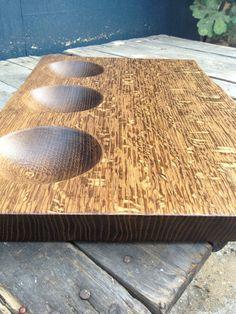 Fumed oak dip board