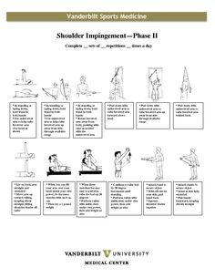 exercises for shoulder impingement | Shoulder Impingement Phase II Exercises