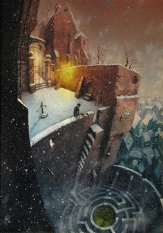 Pavel Čech Creepy, Scary, Fantasy Setting, Decoration, Painting & Drawing, Amazing Art, Art For Kids, Fantasy Art, Whimsical