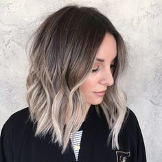 Top 20 Spring Highlight Ideas for Short Hair 2019 Hairstyle Fix Ash Blonde Balayage Fix Hair Hairstyle Highlight Ideas short spring Top Blond Beige, Ombre Blond, Ombre Hair Color, Ash Beige, Ash Ombre, Ash Blonde Hair Balayage, Beauté Blonde, Short Balayage, Brown Hair With Blonde Ends