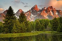 Grand Teton National Park. Been there once, would love to go again.