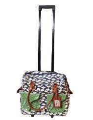 Nice Things Planes Trolley Bag blau