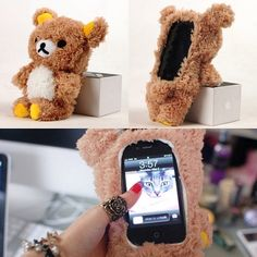 WANT WANT WANT teddy bear iphone/ipod touch case arghhhh (via amazing_pretty on instagram)