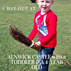A day out at Alnwick Castle in Northumberland with a toddler and a 4 year old