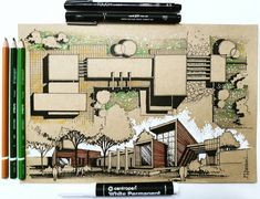 1,164 отметок «Нравится», 4 комментариев — Sketch & Architecture platform (@sketch_arq) в Instagram: «By @s.stetina #sketch_arq #architecture #design #ideas #architecturestudent #アーキテクチャ #arquitectura…»