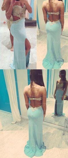 long prom dress, blue prom dress, chiffon prom dress, backless prom dress, unique prom dress, sexy prom dress, cheap prom dress