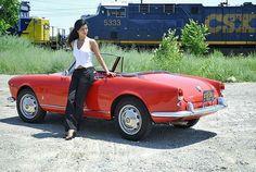 Alfa Romeo Giulietta Spider #alfa #alfaromeo #italiandesign