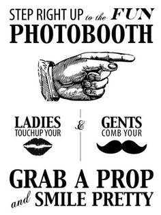 I like the photobooth aesthetic. Vintage connotation