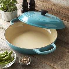 Le Creuset® Signature Caribbean Braiser, 3½ qt. | Sur La Table