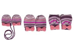 Striped Knit Mittens   The Honest Company