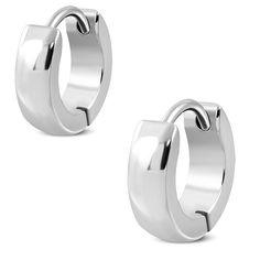 Boucles d'oreilles homme ZE0059. Matière : acier inoxydable. Longueur : 1,00 cm. Largeur : 0,30 cm. Poids : 1,50 g. Référence : ZE0059.