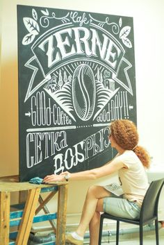 chalk-art by Anna Redko | Beautiful