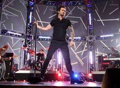 Adam Levine and Maroon 5 Light Up the Stage at the Grammy Nominations Concert, Dec. 5, 2012