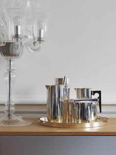 sterling coffee set