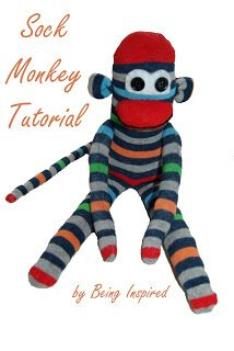 Being Inspired: Day 26 - Sock Monkey