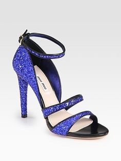 """These are totally going to become a popular """"something blue"""" shoe for brides this/next season!"""