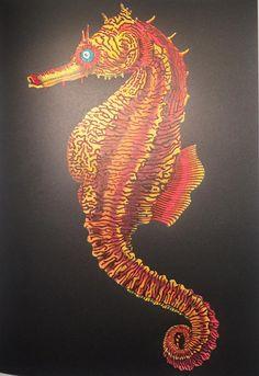 Seahorse By Tina Lee