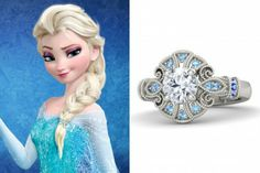 14 Engagement Rings Inspired by Disney's #Frozen