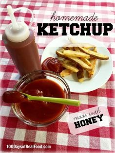 DIY in the Kitchen + Homemade Slow Cooker Ketchup on 100 Days of #RealFood